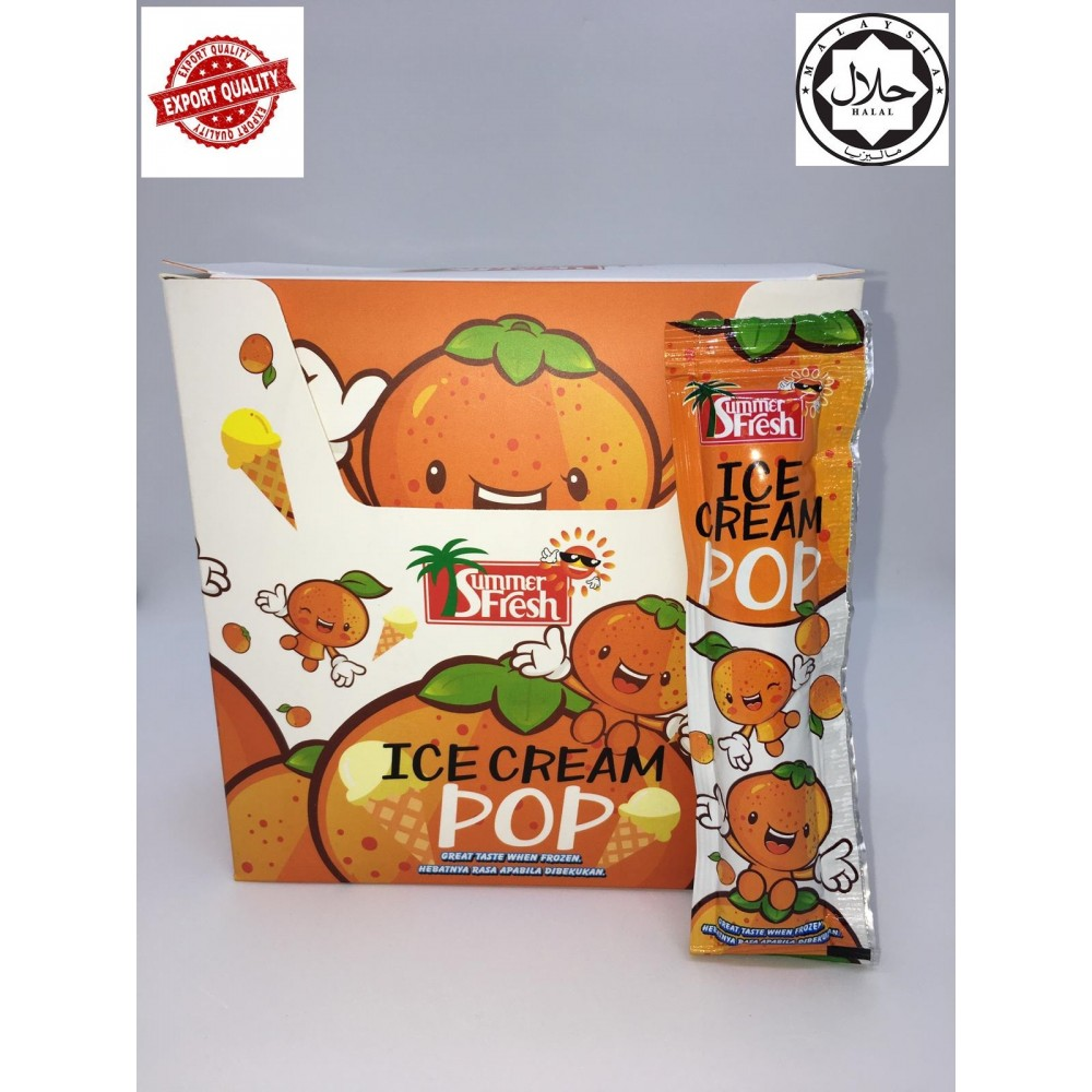 R0001 - Ice Cream Pop (Orange Flavour)